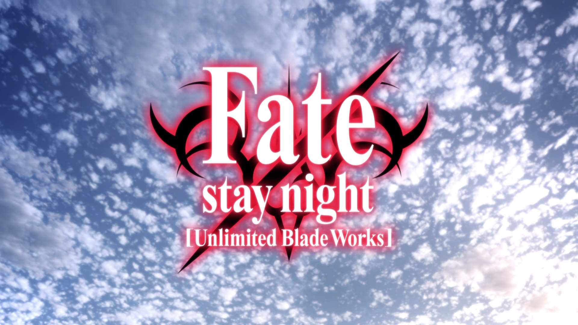 Fate/stay night 命运之夜 UBW Unlimited Blade Works
